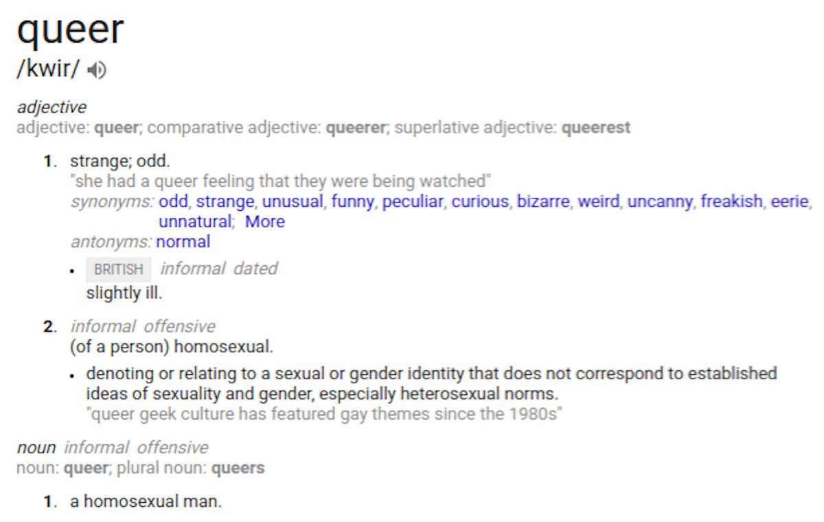 queer definizione