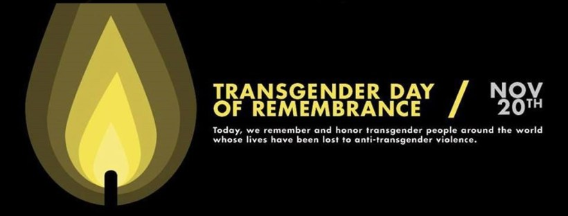 TRANSGENDER DAY OF REMEMBRANCE 2017