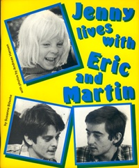 "Copertina del libro ""Jenny lives with Eric and Martin"""