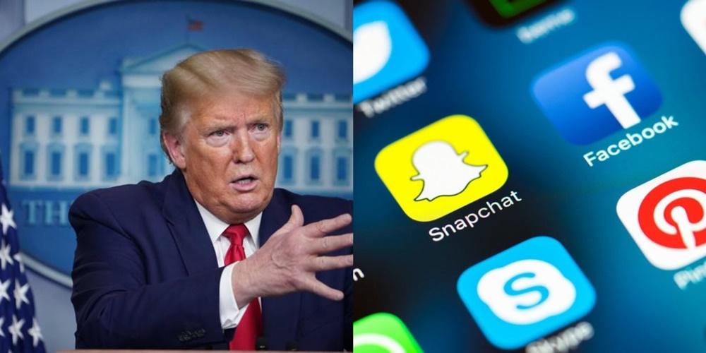 TRUMP E IL BANDO DAI SOCIAL MEDIA